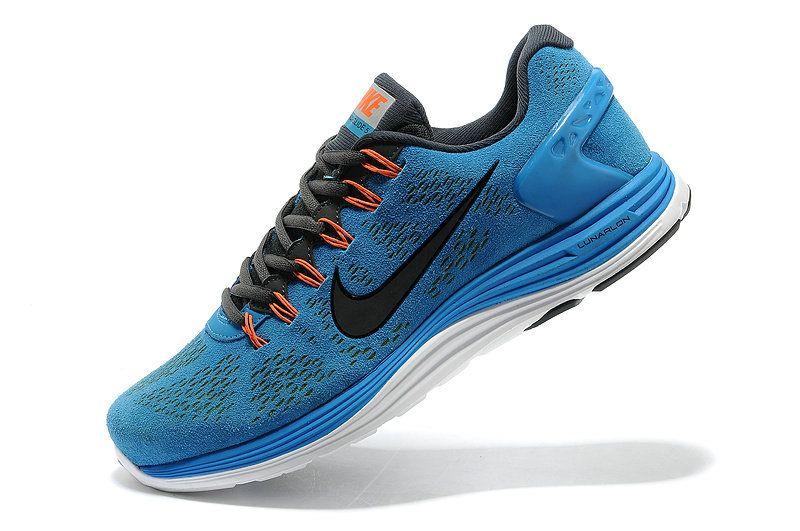 fff38d751521 Nike LunarGlide+ 5 EXT Hero Blue Dark Grey Black