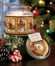 Premium Winter Art Jar Candles: Snowmen Candle, $8.95