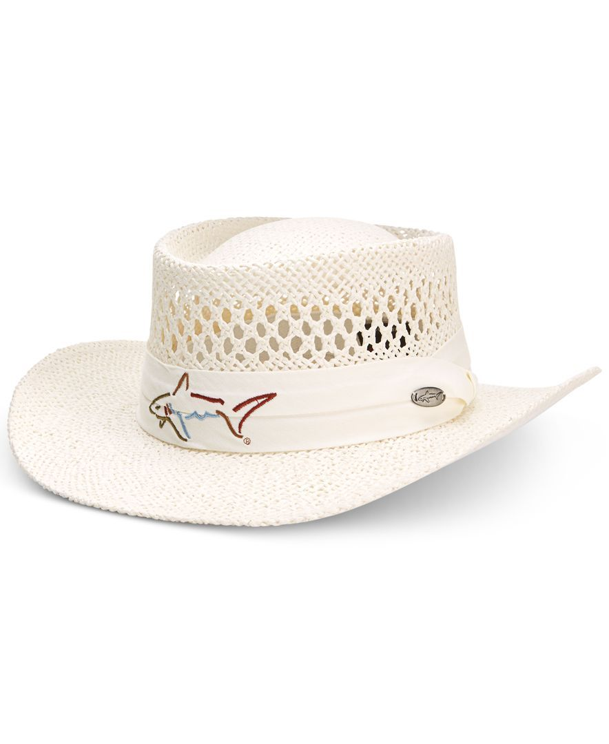 221a41ee Greg Norman for Tasso Elba Straw Golf Hat | Products