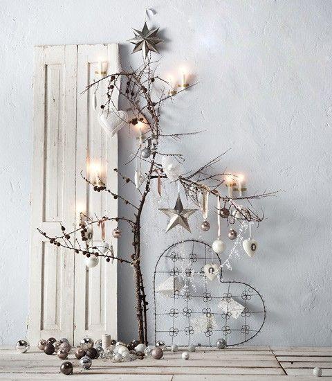 Como conseguir una decoración navideña de estilo nórdico http://icono-interiorismo.blogspot.com.es/2014/11/como-conseguir-una-decoracion-navidena.html