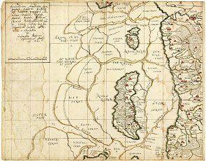 Hele Kortet Daekker Et Omrade Af Vadehavet Fra Fanos Sydspids I