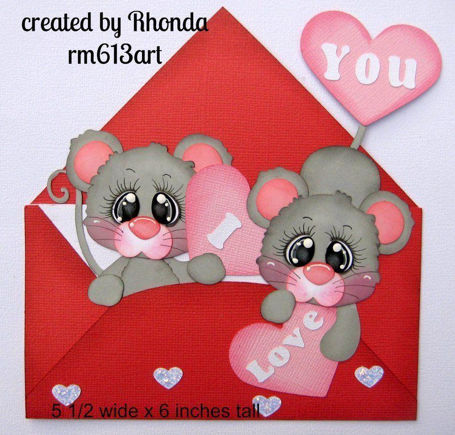 Cutest Dog boy paper piecing title premade scrapbook page Rhonda rm613art