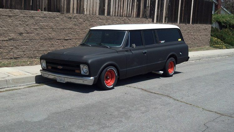 Check Out Customized Leroyseip S 1969 Chevrolet Suburban 1500