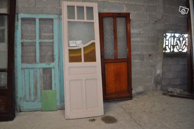 Porte du0027entrée du0027intérieur vitrée Bricolage Paris - leboncoinfr - decoration portes d interieur