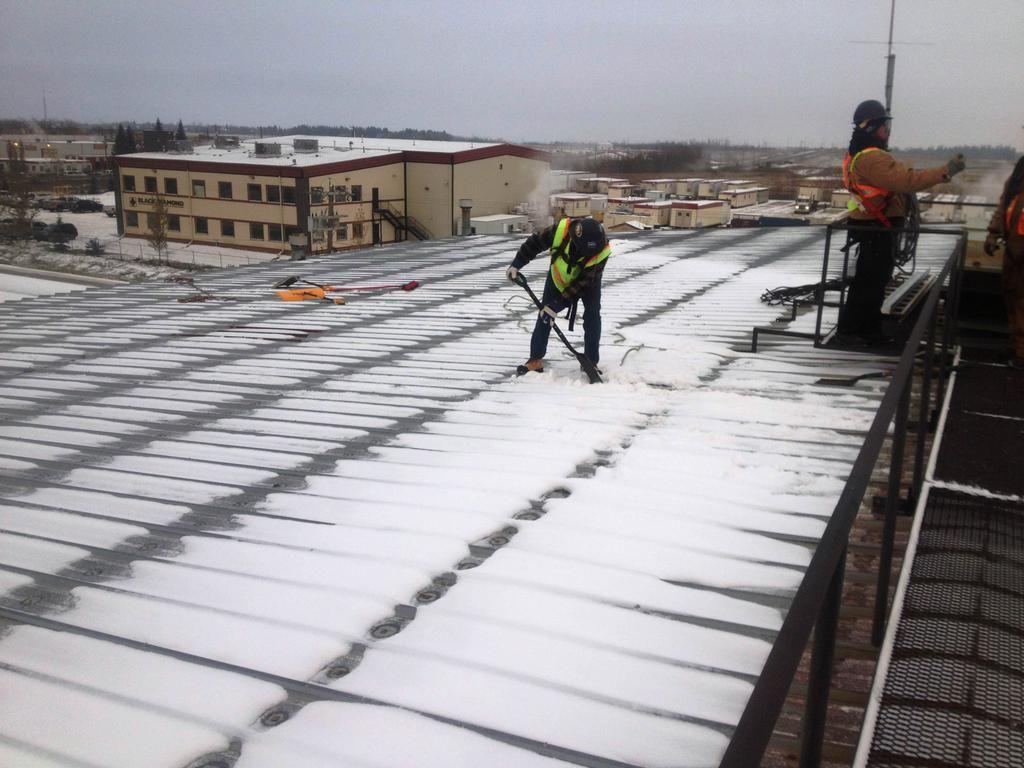 General Roofing Grs On Metal Roof Repair Metal Roof