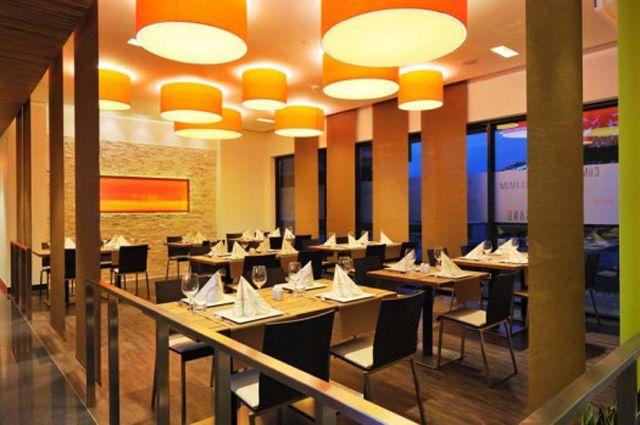Modern Interior Restaurant Kantina Cubis in Šenčur Slovenia by ...
