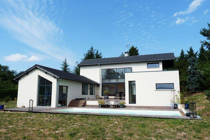 Maison pour une famille de 5 enfants avec une très belle vue côté