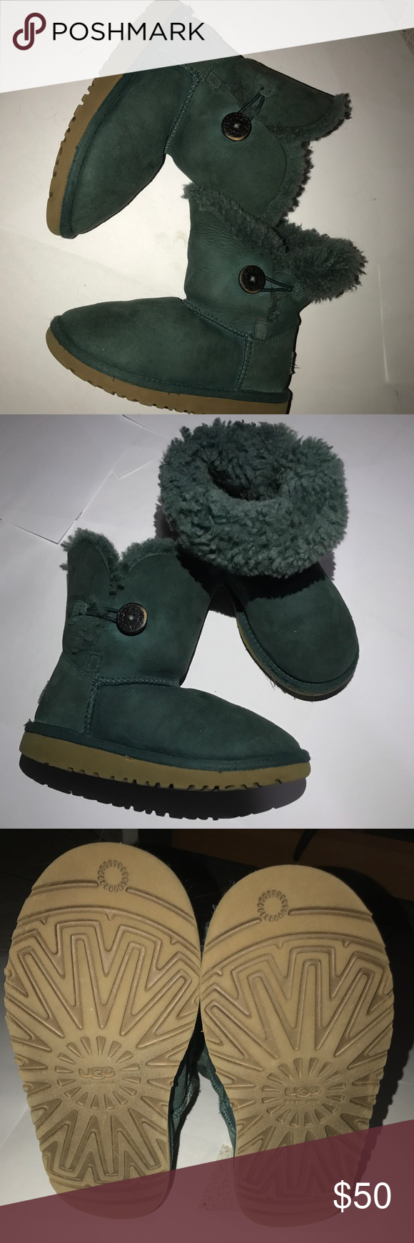 ugg boots teal color