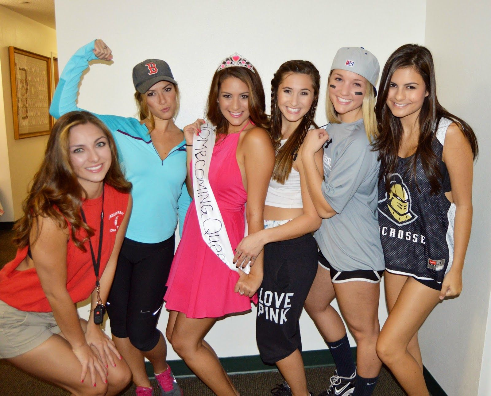 High school stereotypes social with friends: homecoming queen ...