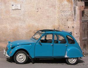 Bleu Des Tropiques 2cv Car Vehicles Someday