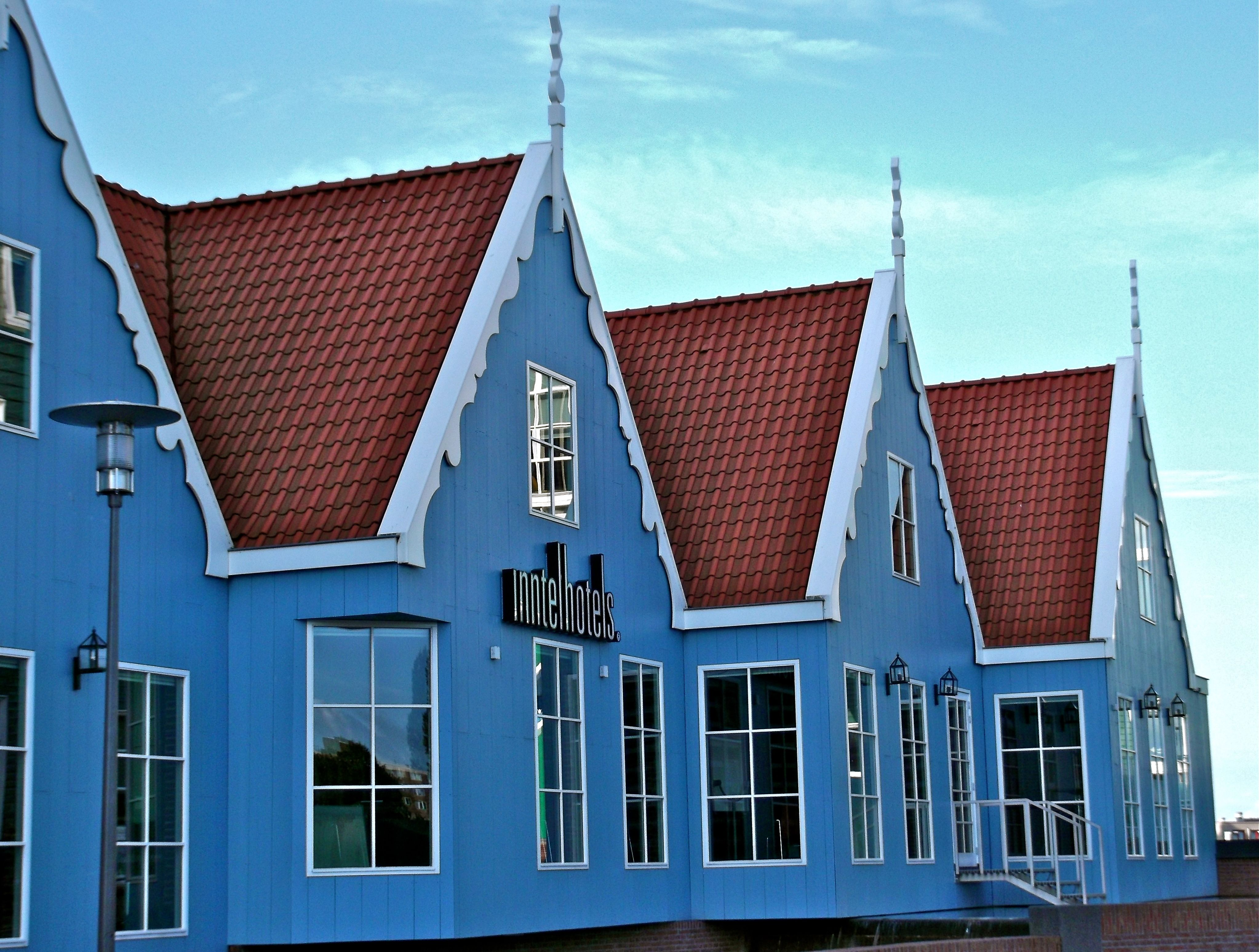 Zaandam Blue Wooden Houses House Styles House Cabin