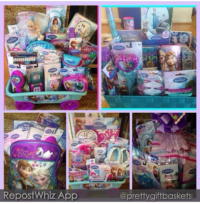 Frozen Easter Baskets Holiday Easter Frozen Easter