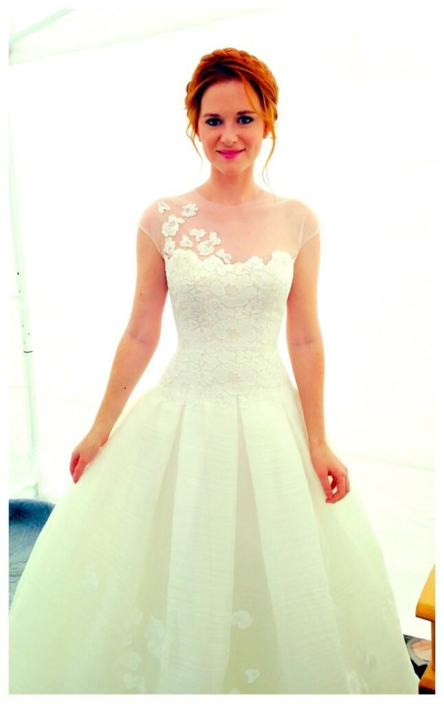 April Kepner\'s wedding dress. I will have this dress. by designer ...