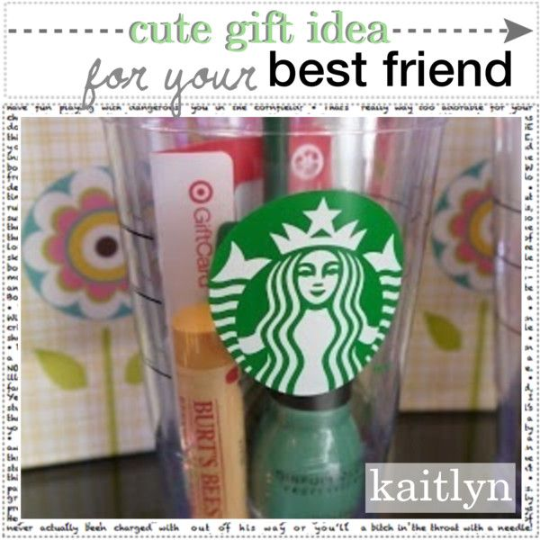 "Christmas Gift Ideas For Girl Best Friends: ""cute Gift Idea For Your Best Friend"