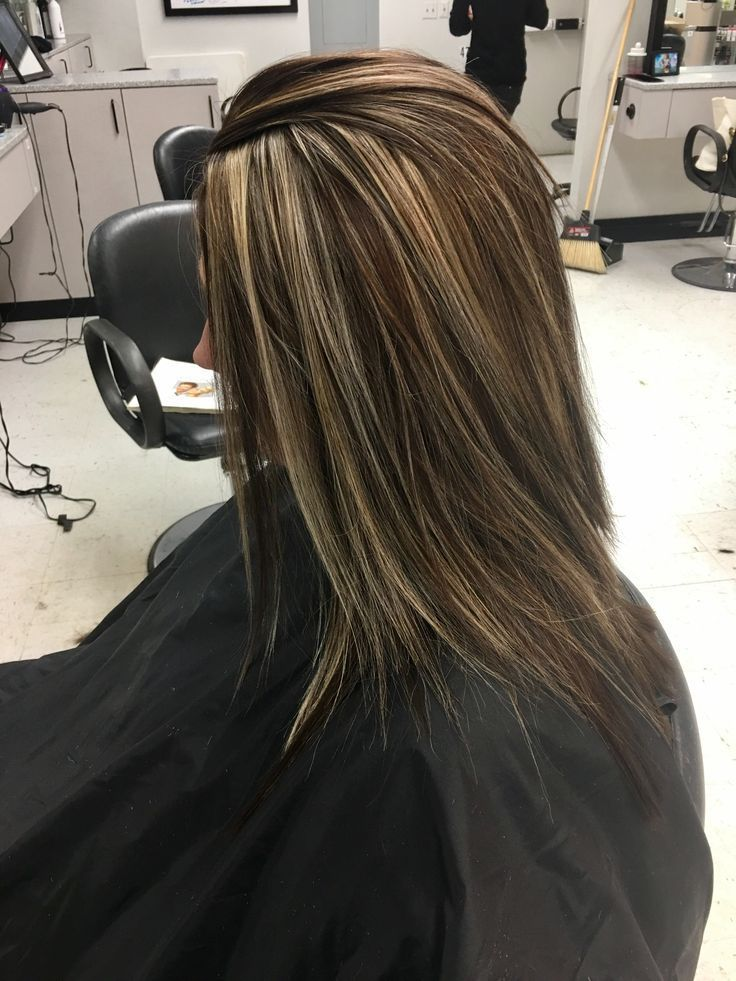 Image Result For Blonde Highlights In Dark Hair Only In The Front