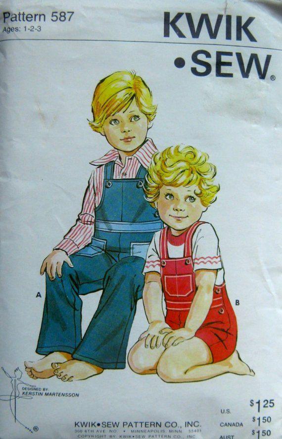 boys overalls vintage pattern | Boys Clothing Inspiration | Pinterest