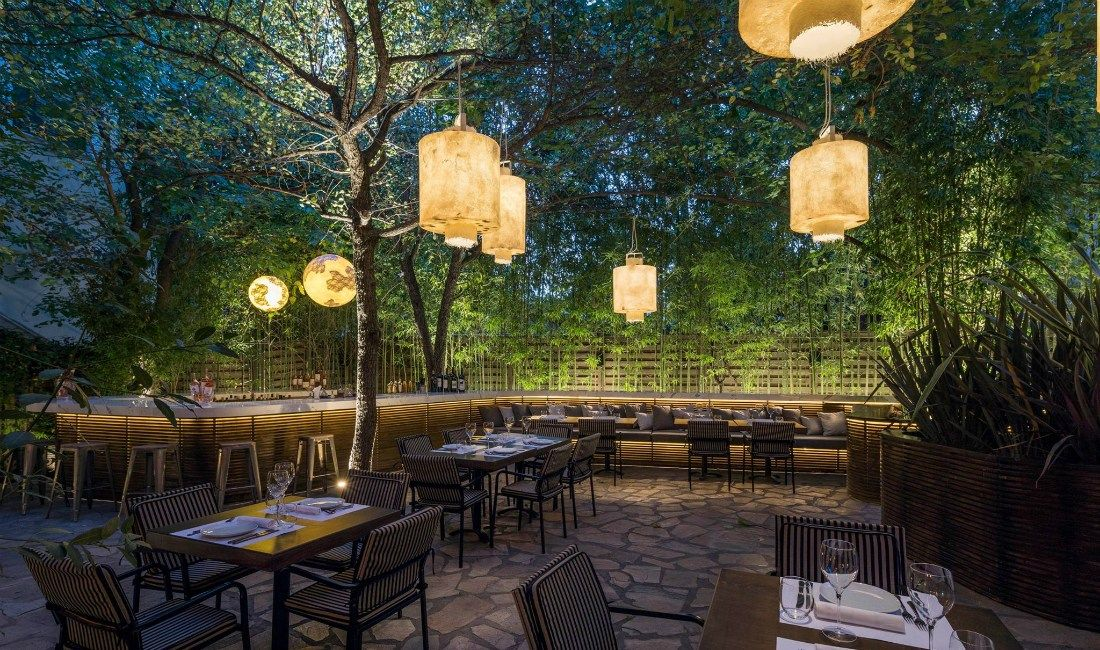 Lamps For A Fairytale Garden Outdoor Restaurant Lighting Cafe Decor Restaurant Lighting