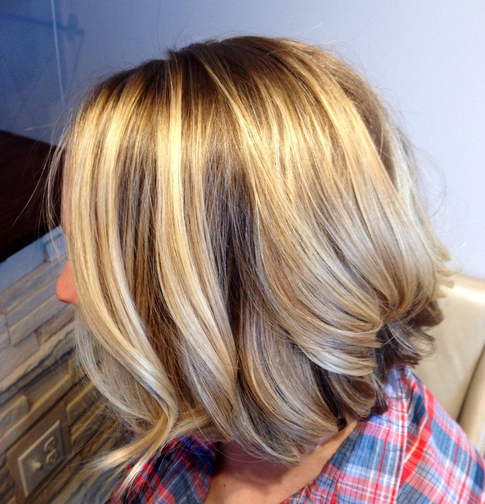 balayage hair niki moon salon blonde bob with balayage. Black Bedroom Furniture Sets. Home Design Ideas