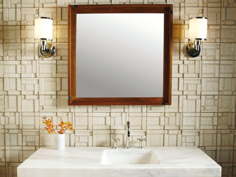 Elegant Bathroom In Basement