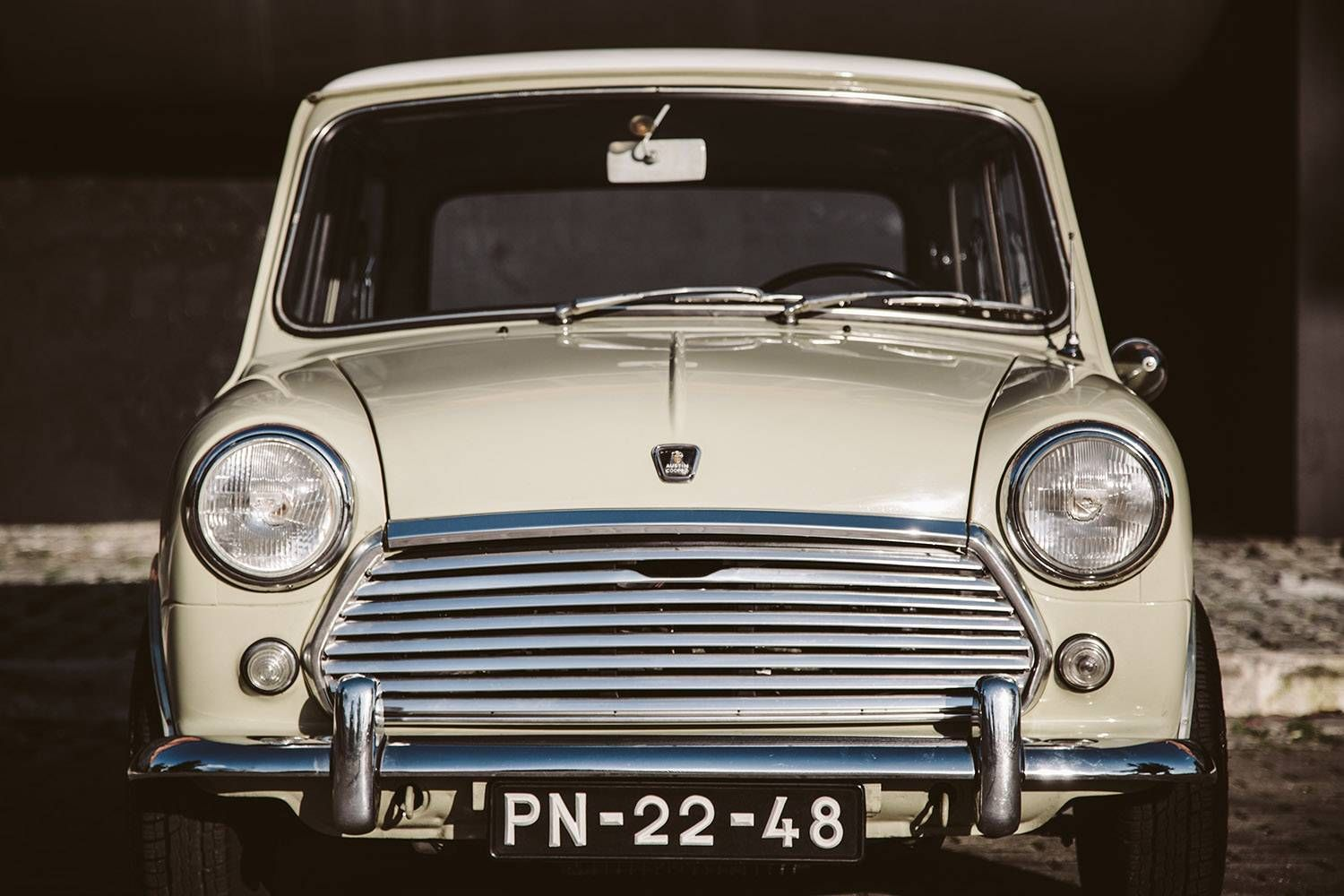 austin mini cooper 1000 for sale austin mini oldtimer und oldtimer kaufen. Black Bedroom Furniture Sets. Home Design Ideas