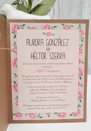 Invitaciones de boda econ micas bonitas y modernas - Vajillas modernas y economicas carrefour ...