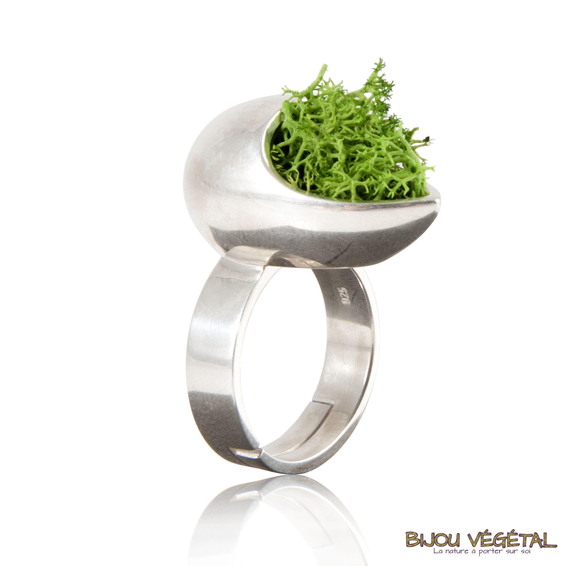 bijoux argent vegetal