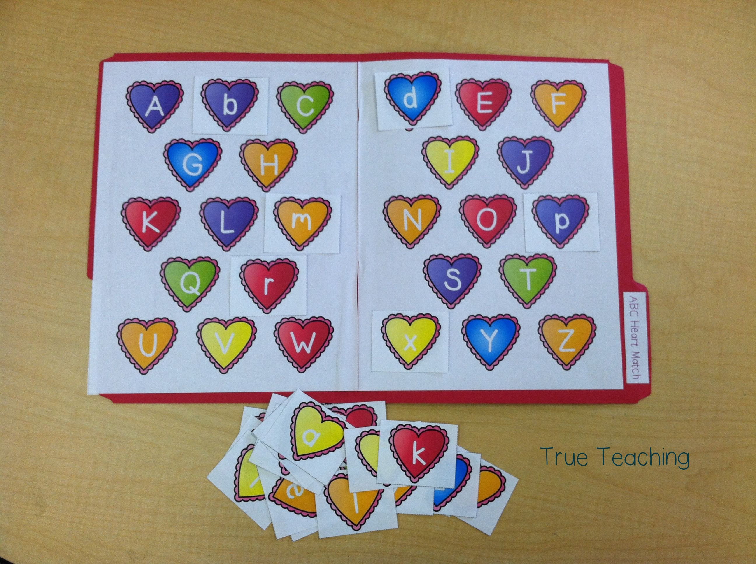 Abc Heart Match With Images