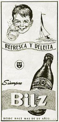 "URBATORIVM: ""BILZ"": UNA BEBIDA SIN ALCOHOL DEVENIDA EN GASEOSA PARA NIÑOS"