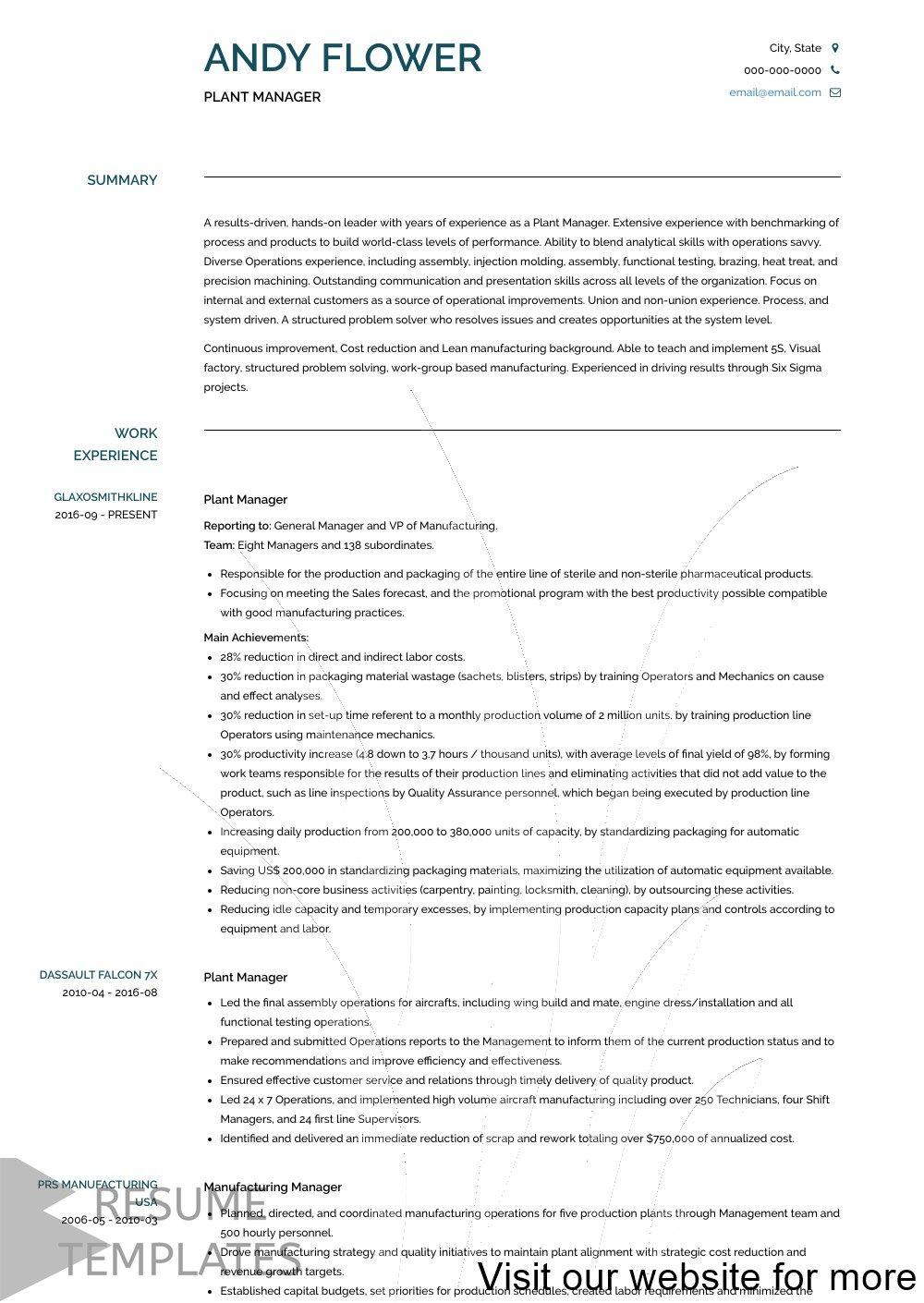 best free resume builders 2020 in 2020 Resume cover