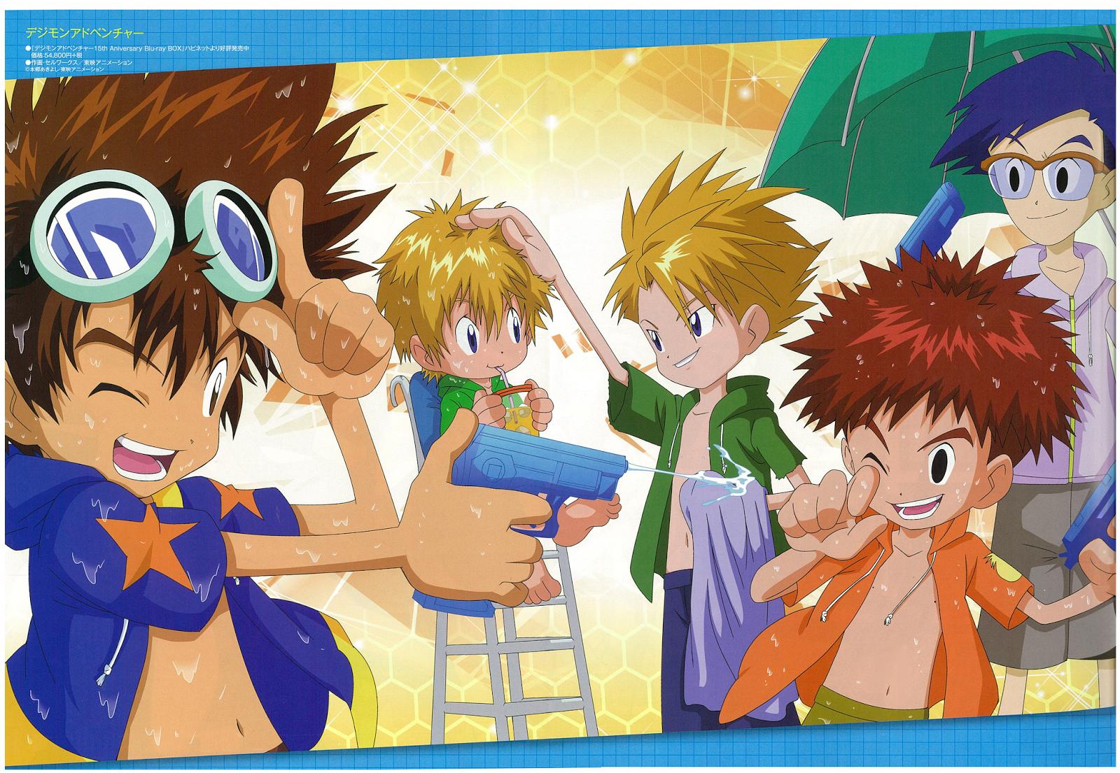 Digimon Adventure! Summer!!!