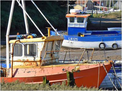north norfolk fishing boats - Google Search