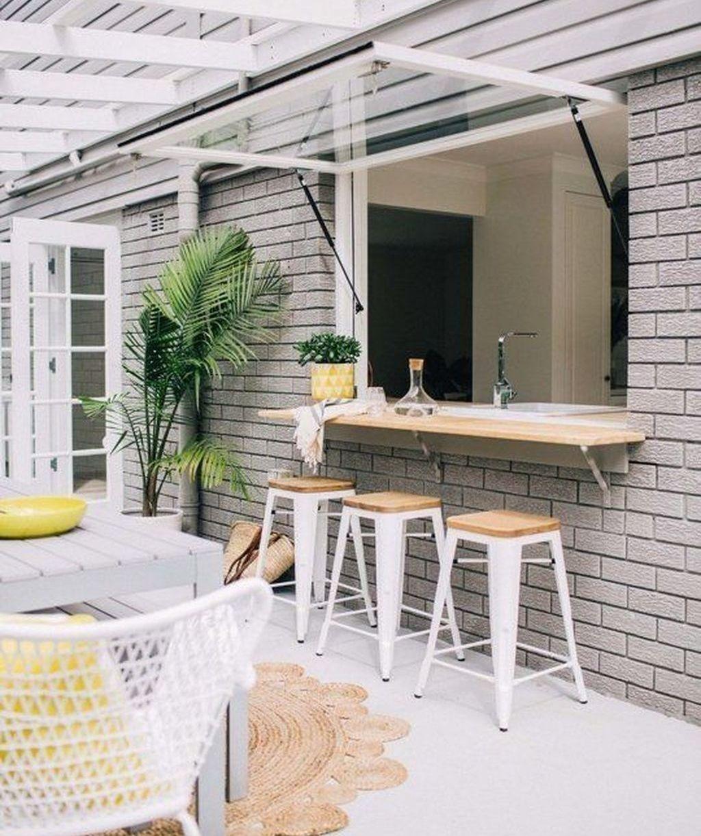 38 Wonderful Kitchen Bars Design Ideas For Kitchen Looks Cool Indoor Outdoor Kitchen Kitchen Window Bar Kitchen Bar Design