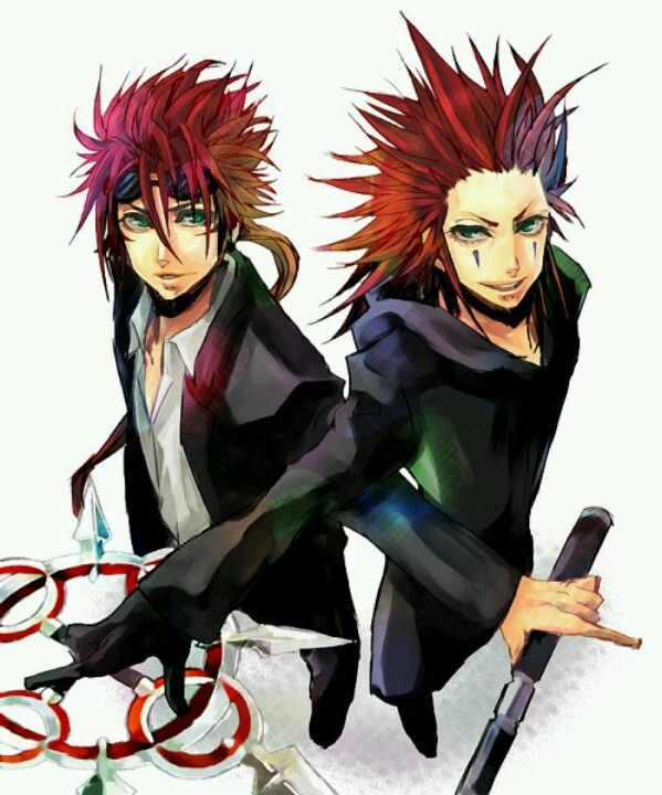 Reno And Axel They Really Do Look Similar And They Re Both