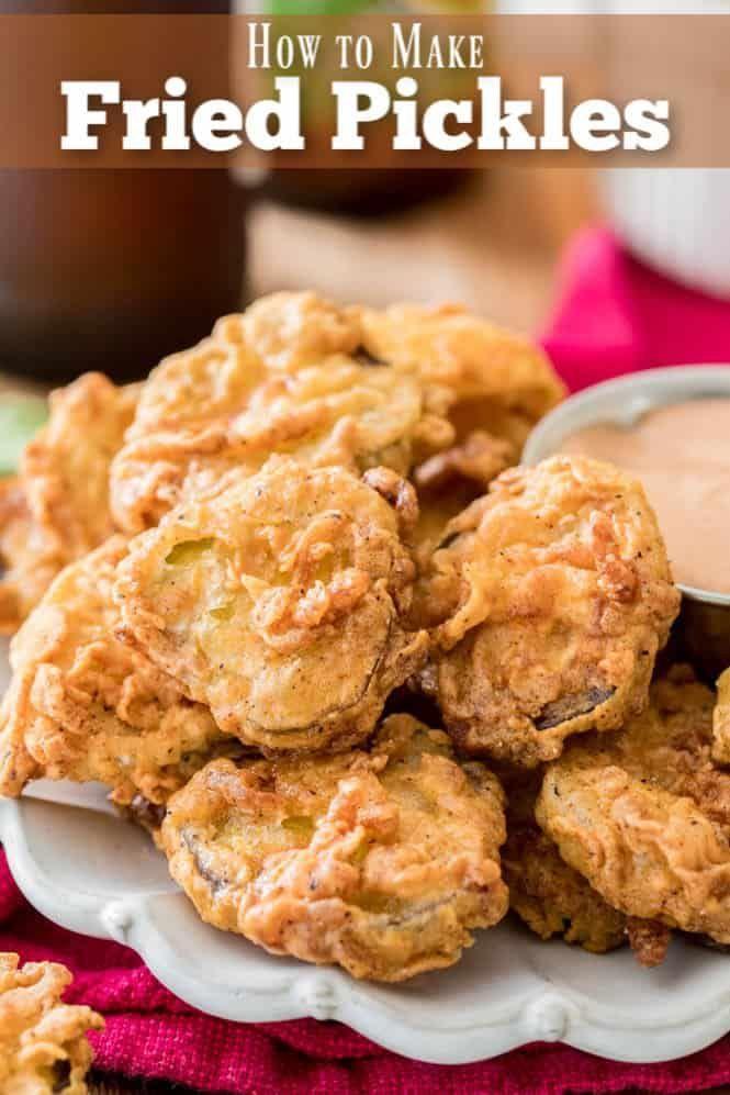 How To Make Crispy Homemade Fried Pickles No Deep Fryer