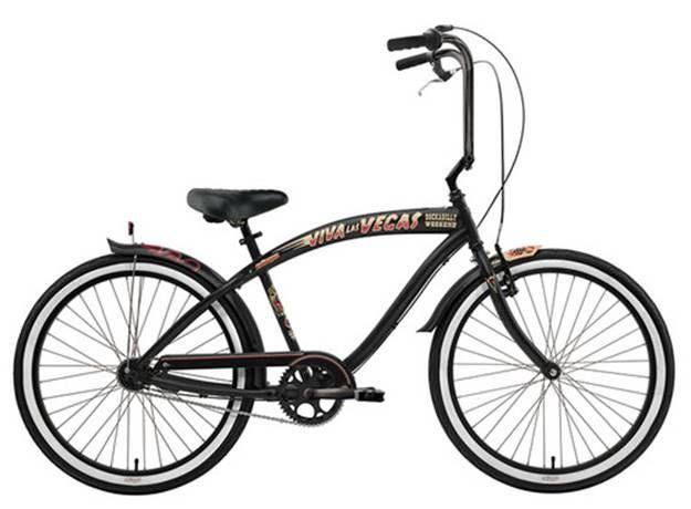 Nirve Viva Las Vegas Mens 3 Speed Limited Edition Beach Cruiser At Beach Cruiser Beach Cruiser Bicycle Bicycle