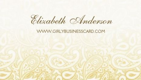 Elegant gold and ivory gradient paisley pattern business cards http elegant gold and ivory gradient paisley pattern business cards http zazzle reheart Gallery