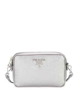 e3cfb13ee046 Prada Saffiano Leather Camera Bag | Products | Leather camera bag ...