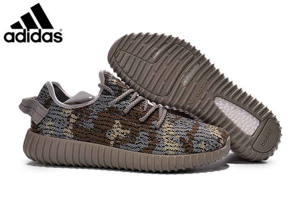 615c0c2b6812b Men s Adidas Yeezy Boost 350 Shoes Brown Grey AQ4840
