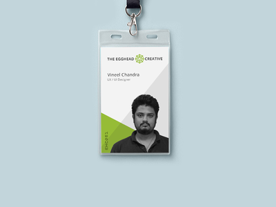Id Card Design For Ehc  Business Cards Corporate Identity And