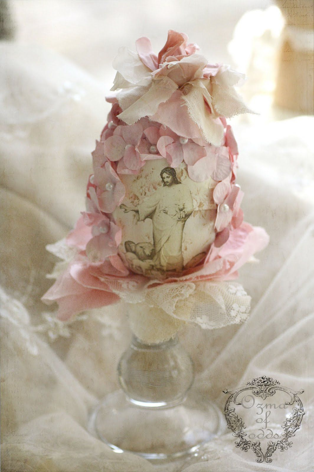 Ozma of odds a romantic easter egg vintage easter cottage ozma of odds a romantic easter egg negle Choice Image