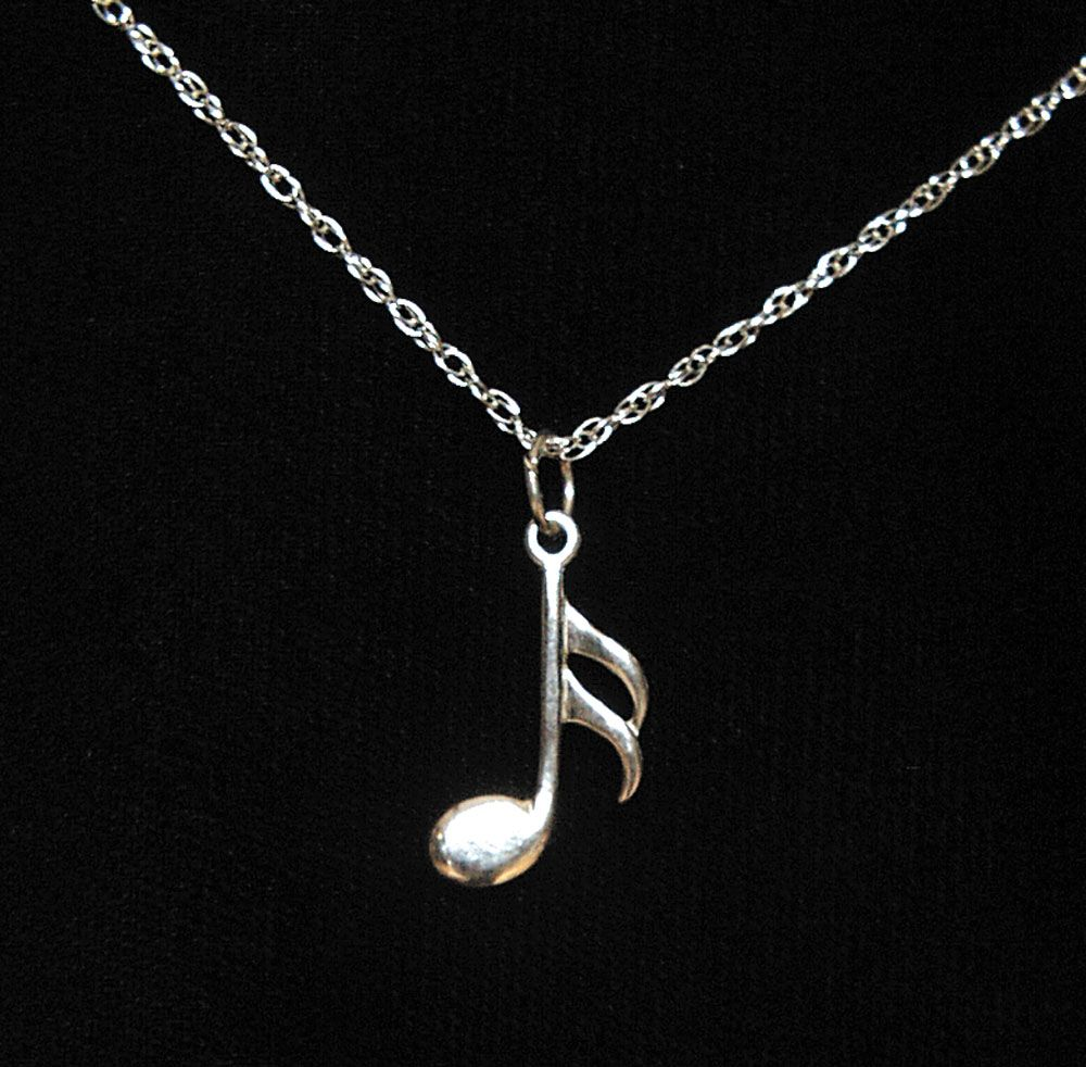 silver musical com jewellery original charmed lilycharmed music product lily by notonthehighstreet pendant set note