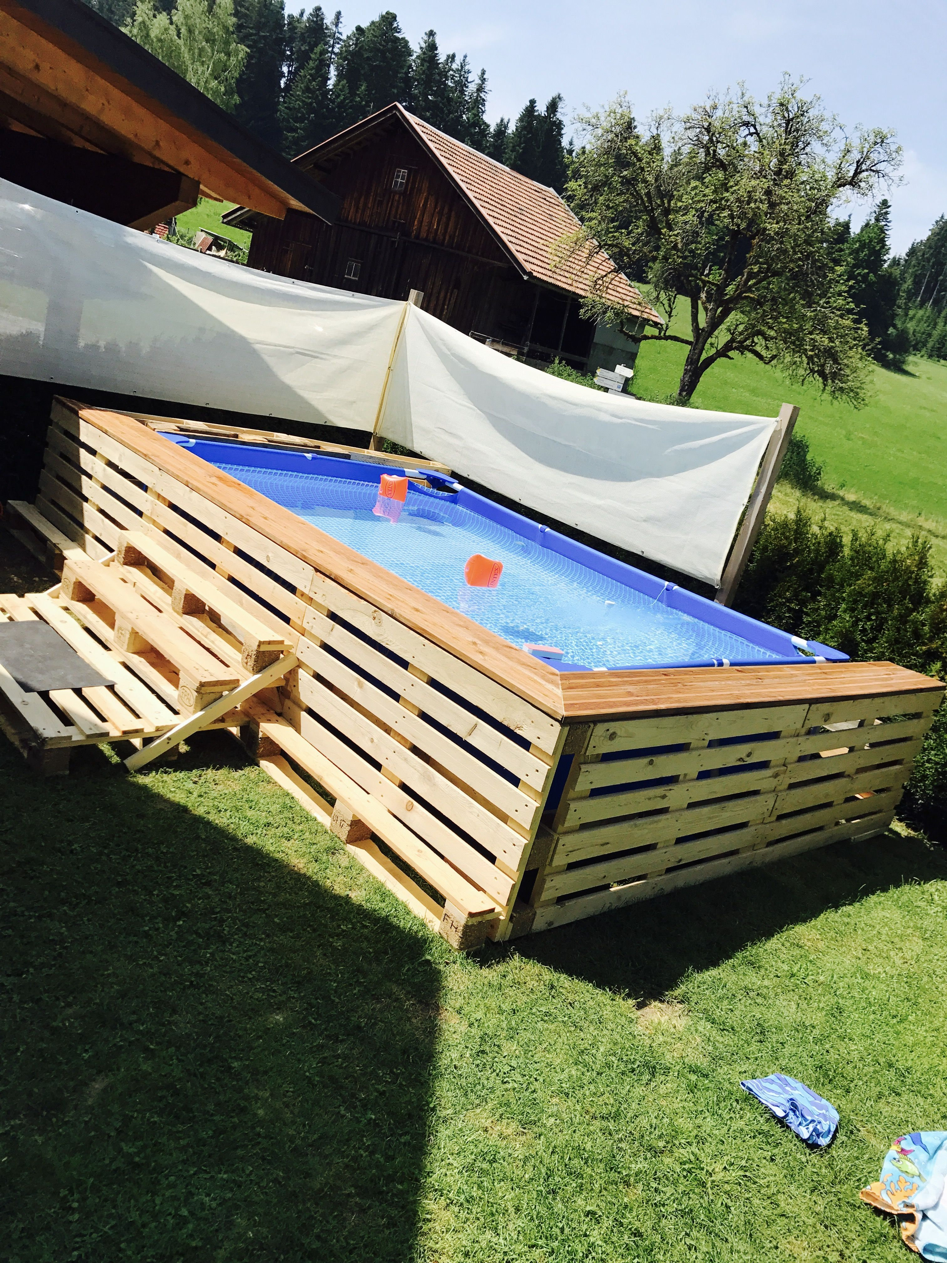 Pool Bauen Aus Europaletten Paletten Pool Powerbookone Bonanza Pinterest Ideas And Good