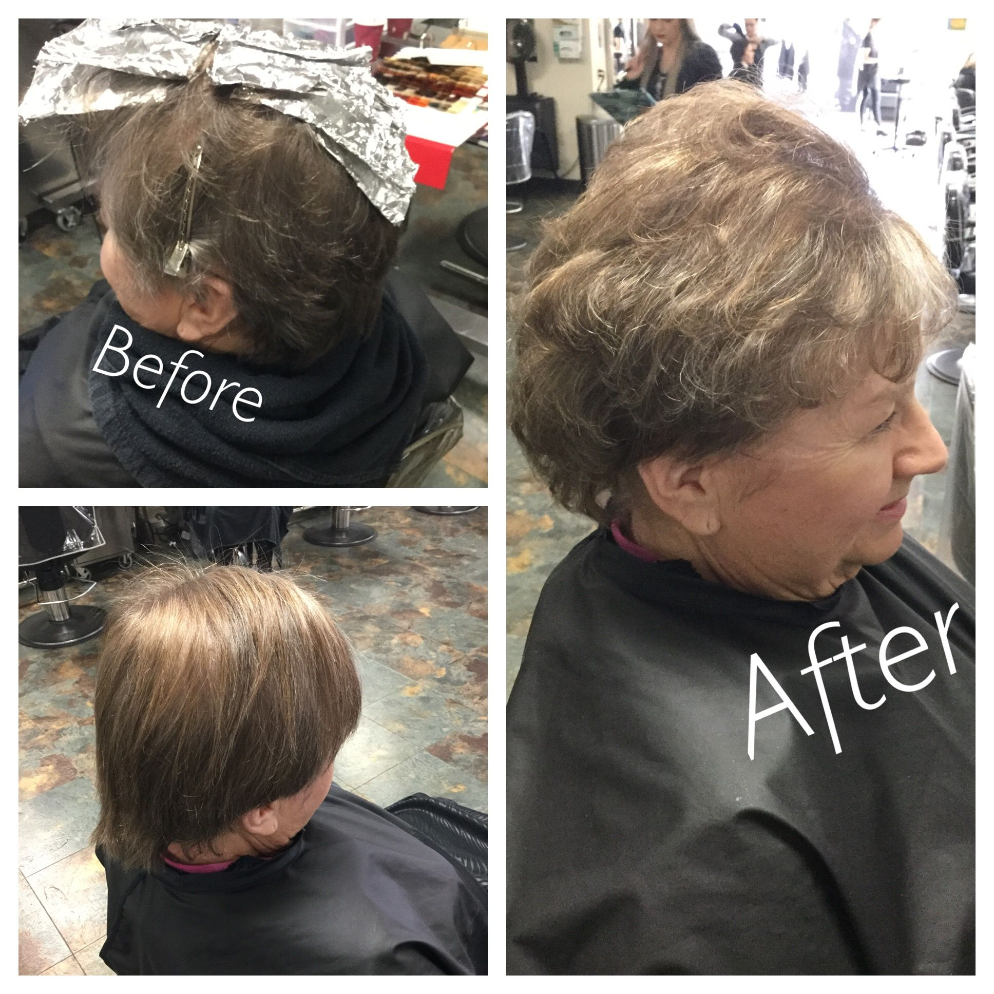 32117 Color Retouch Using Wella Color Touch Demi Permanent Hair