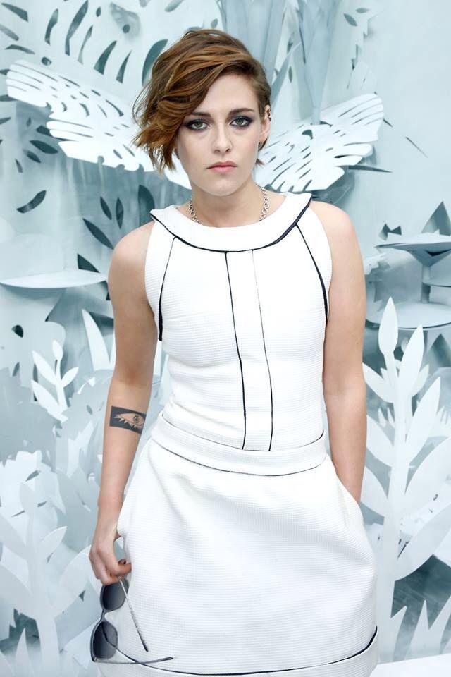 Kristen Stewart at Paris Fashion Week January 26,2015