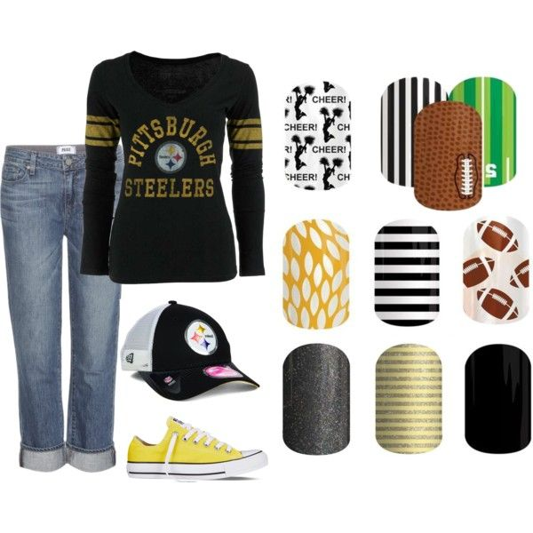 Pittsburgh Steelers Jamberry Outfit!
