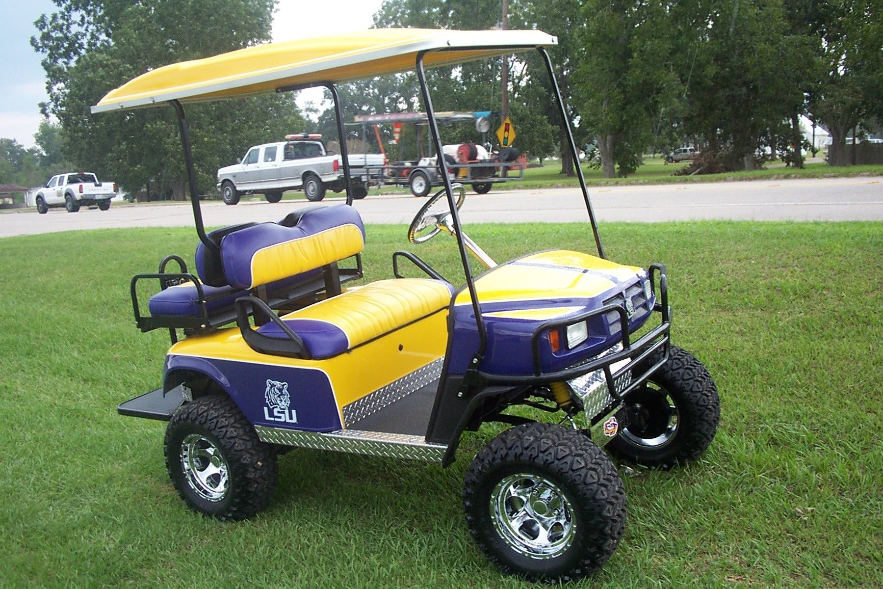 Lsu Golf Cart