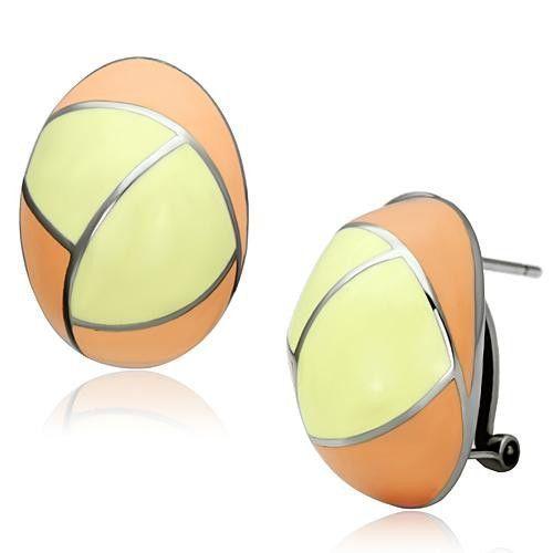 Multi Color Epoxy Earrings
