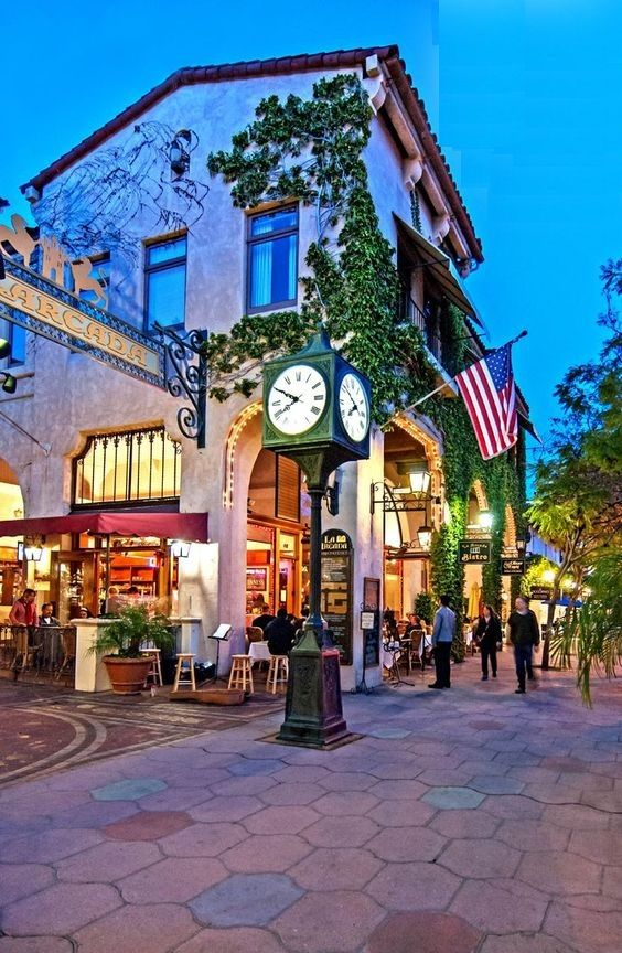 Santa Barbara CA, Downtown State Street