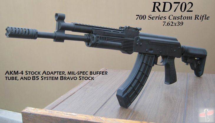 Rifle Dynamics / 700 Series AK rifle in 7 62x39 caliber  This is the