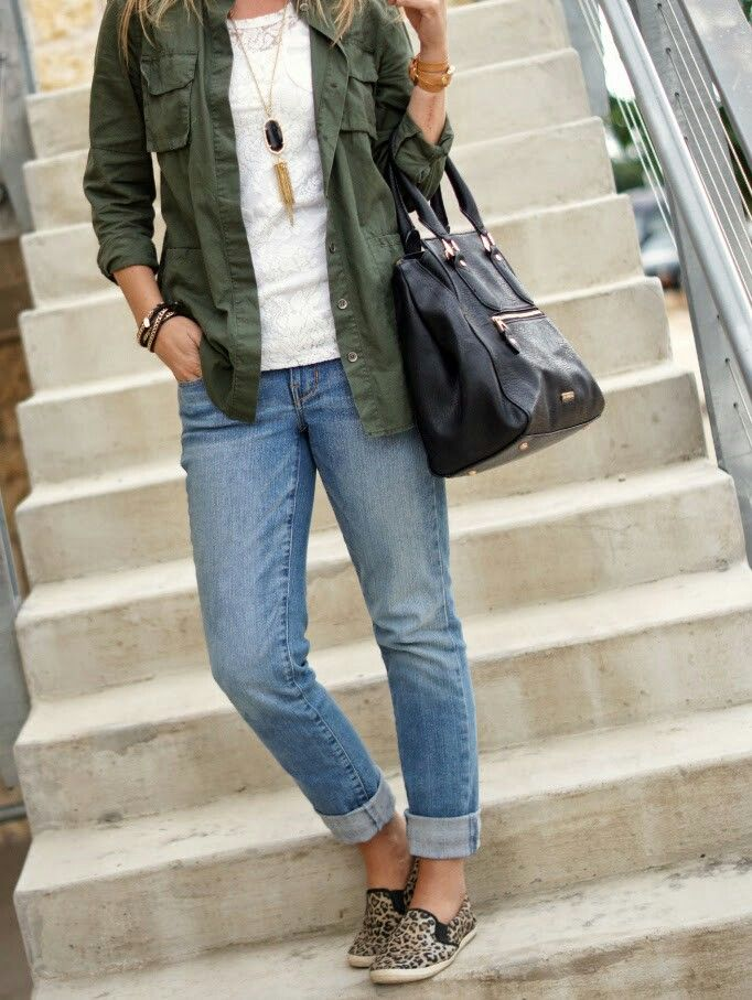 Explore Leopard Sneakers Outfit, Leopard Shoes, and more! Olive green shirt